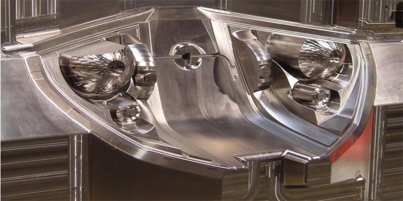 aluminum CNC reflector