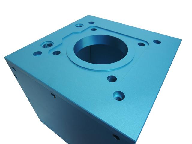 anodized aluminum blue