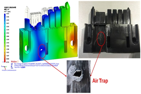 Plastic Injection Molding-Air traps