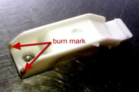 Plastic Injection Molding-Burn Marks