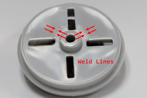 Plastic Injection Molding-Weld Lines_