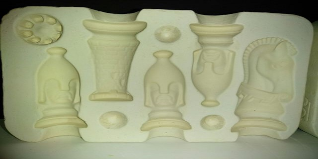 chess set ceramic mold