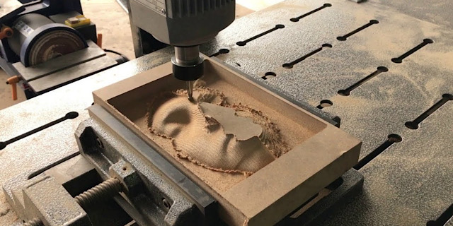 CNC machining for art and sculptures-3